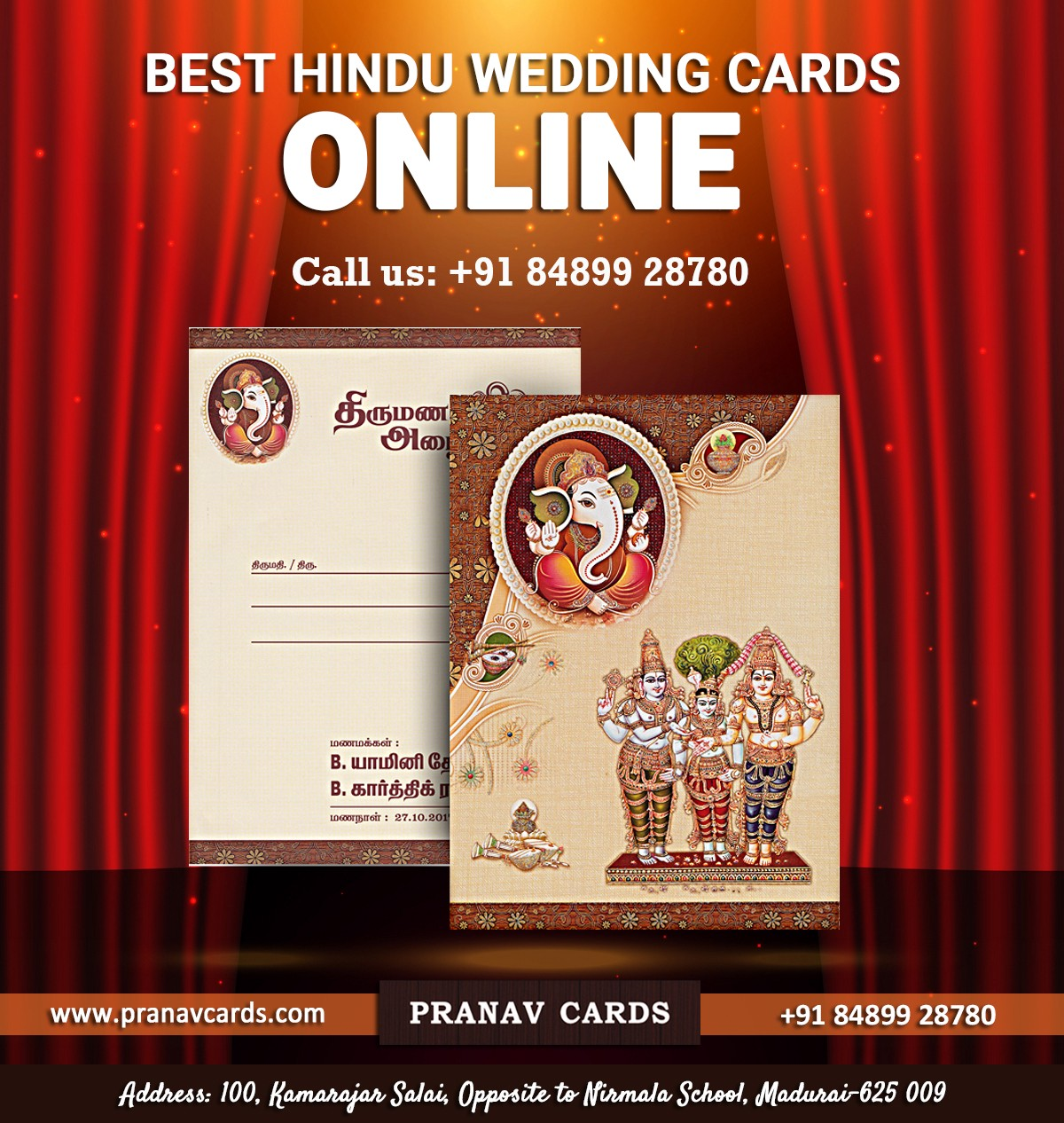 "Stand To Win A Lot More For Your Dream Wedding"" – Pranav Cards – Medium"