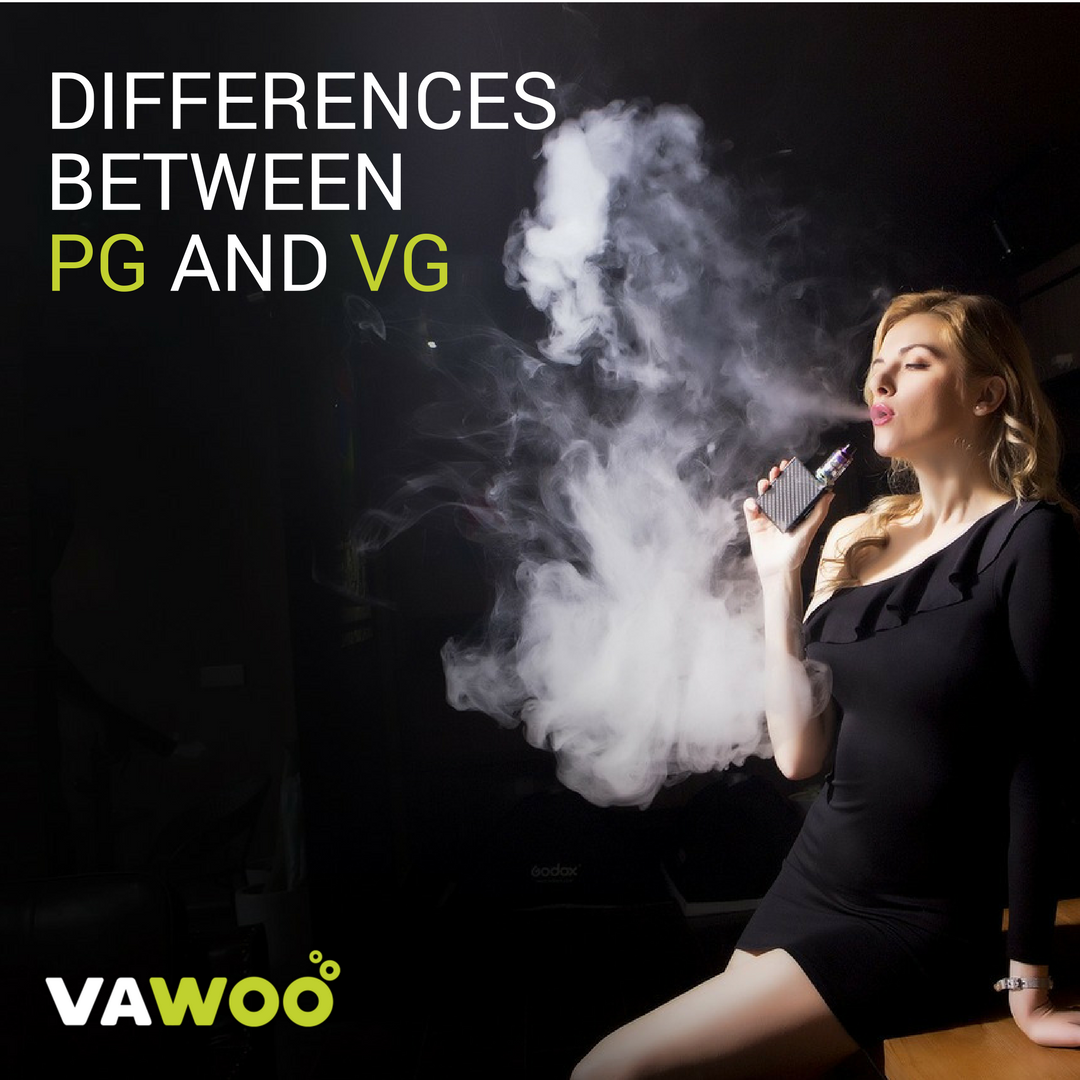 Differences Between PG and VG – VAWOO – Medium