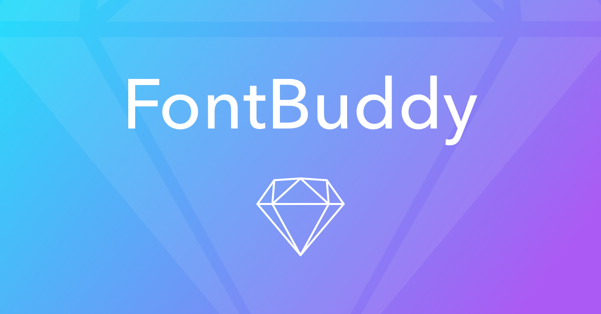 Fontbuddy For Sketch Never Deal With Missing Fonts Again