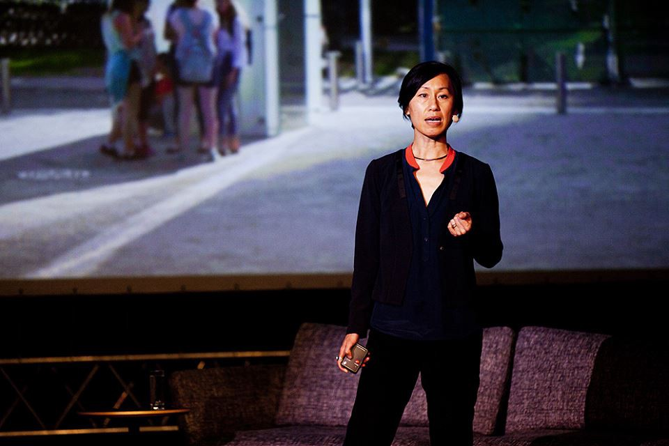 The Founder of NArchitects Mimi Hoang presented her work at reSITE 2016.