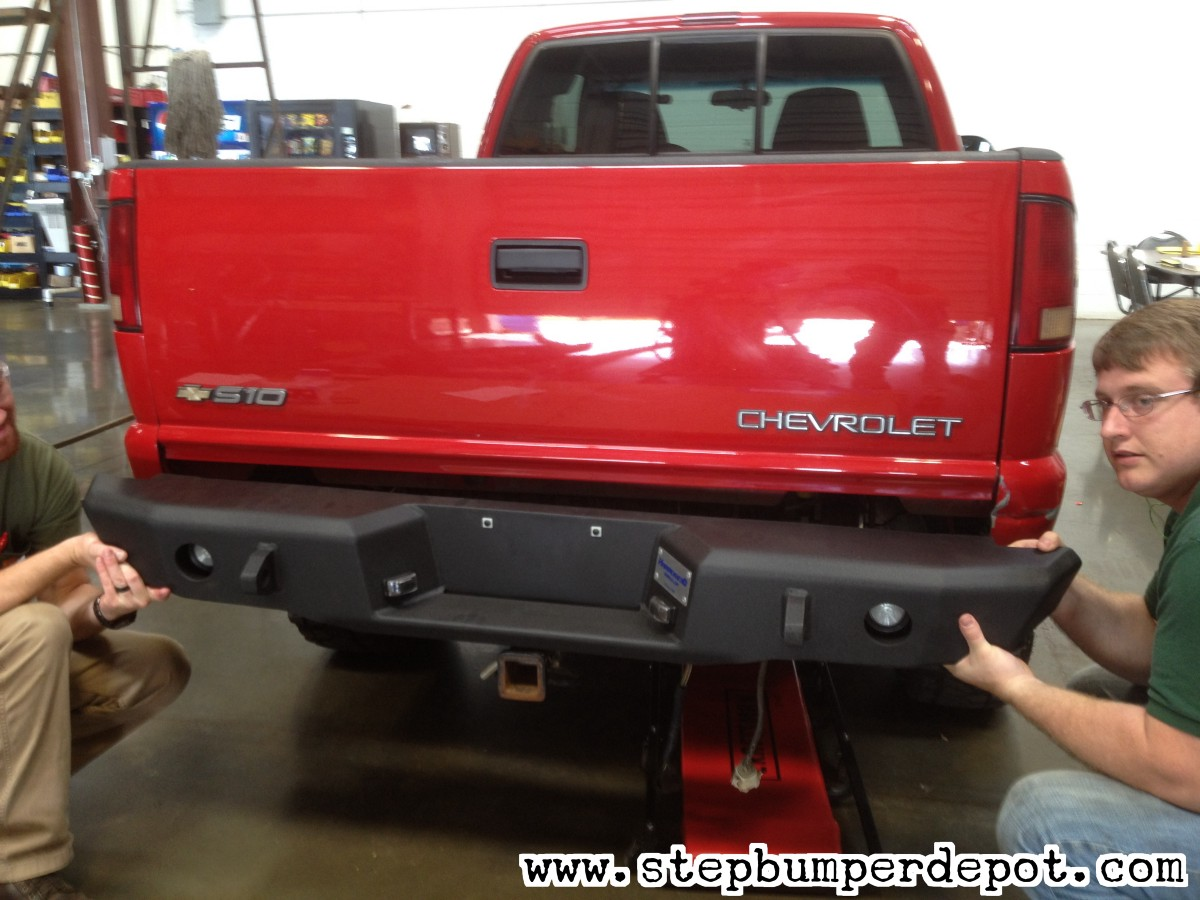 Fixing Chevy S10 Rear And Front Bumper Installation Concerns