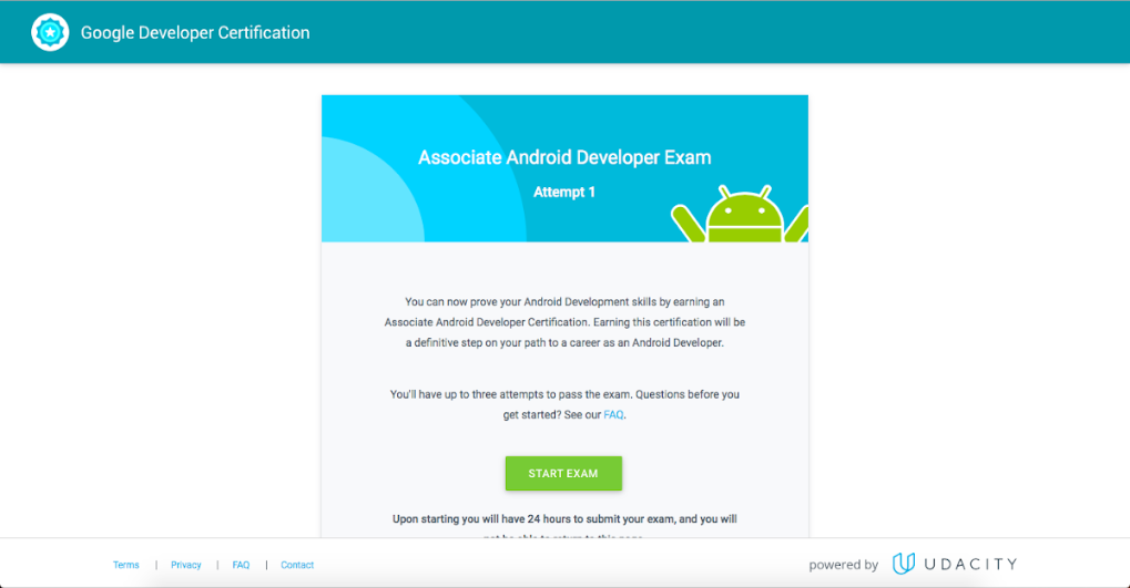 Walkthrough of / My experience with Associate Android Developer ...