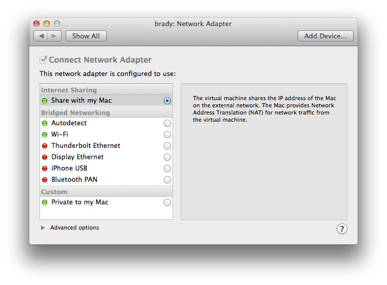 vmware os x guest