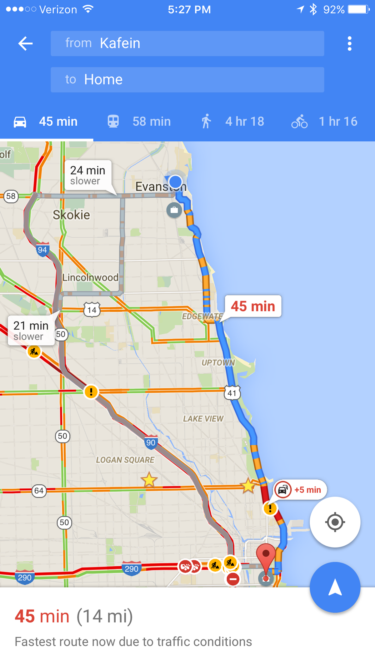 Traffic Map In My Area.Apple Maps V Google Maps And Why I M Sticking With Google For Driving