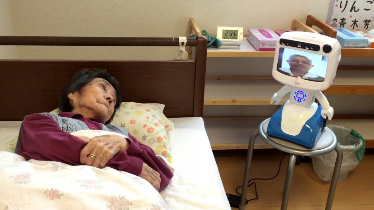 Dinsow — the elder care robot in use today in Japan