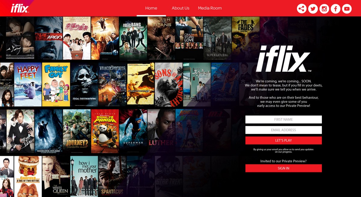 Iflix gains US$133MN content, technology injection