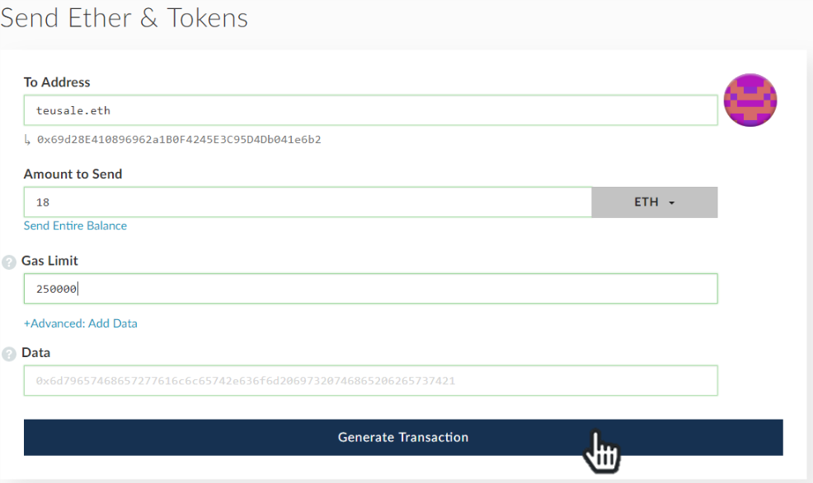 how to change gas limit my ethereum wallet