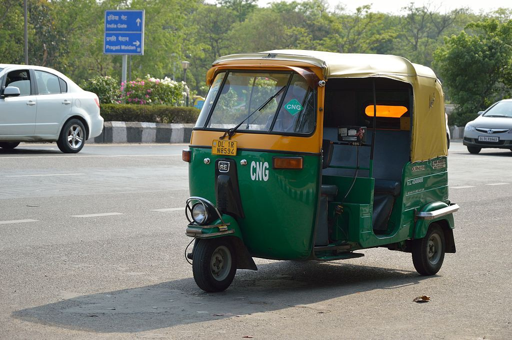 The Auto-rickshaw and its role as a sustainable transport system