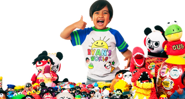492225eb0 A seven year old boy who reviews toys is the highest earning YouTuber  according to research by Forbes Magazine published this week.
