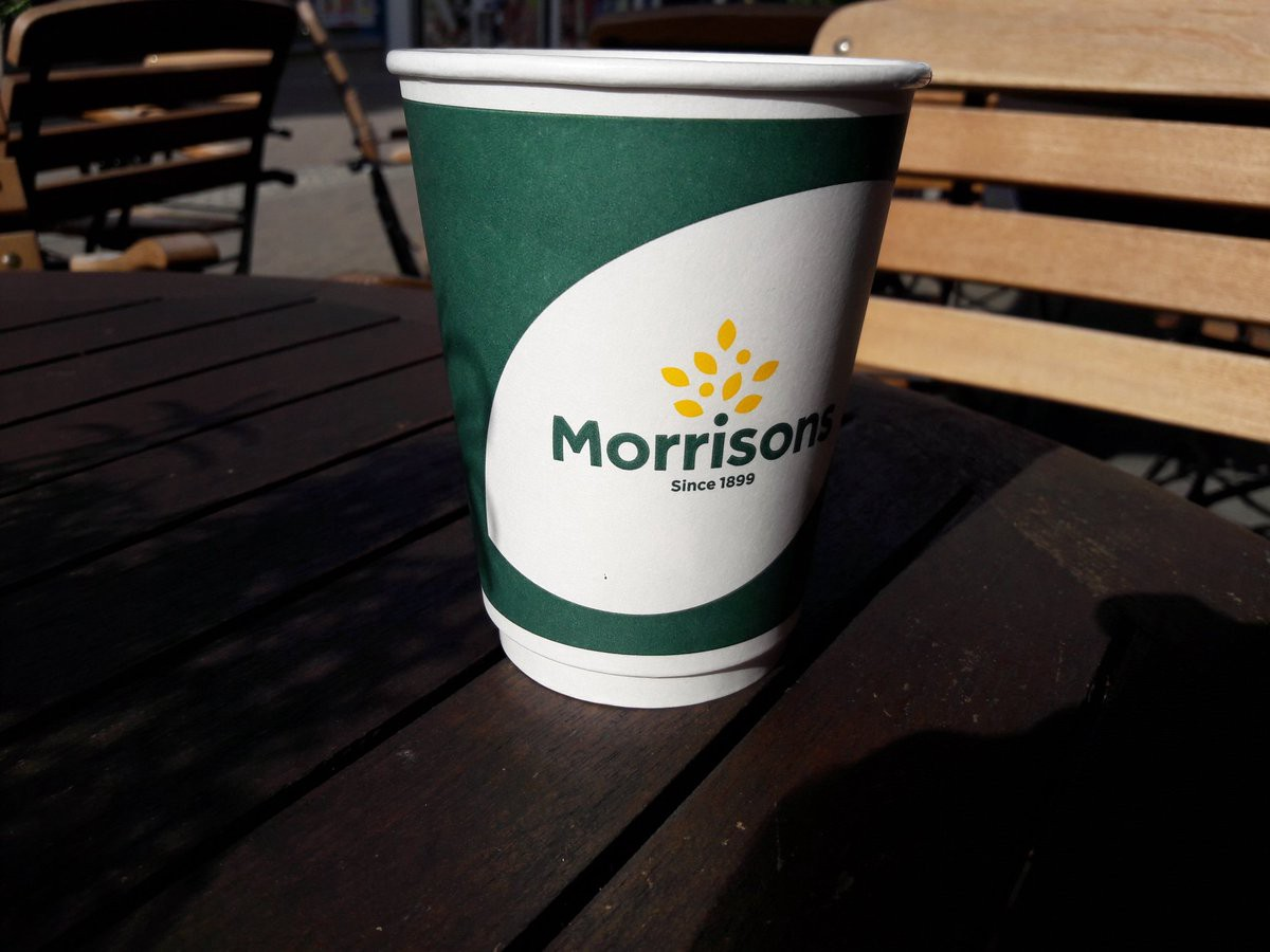 Morrisons Café Takeaway Coffee Cups The Little Bicycle Medium