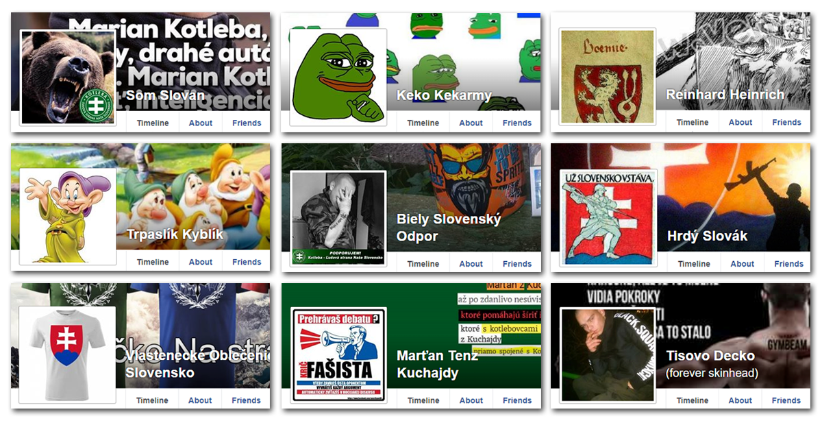 bdec42c34548 This is just a few examples of Facebook fake users. All are using a  different names than they use ...