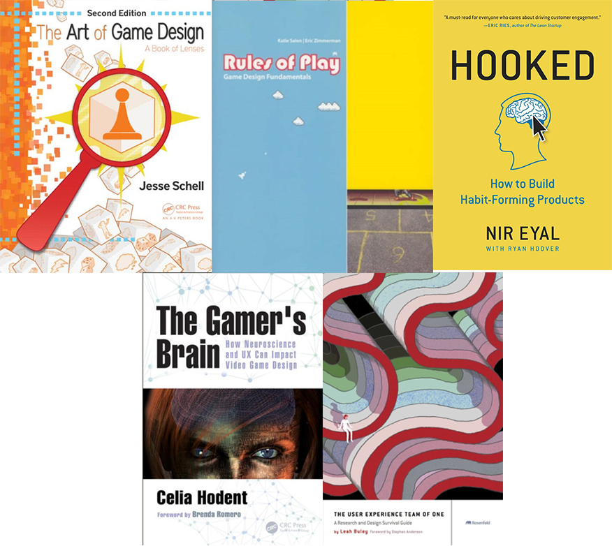Top 5 books for game designers