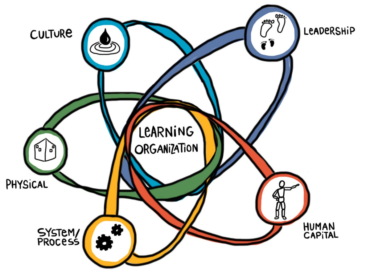 thesis learning organization Systems thinking and the learning organization: the path to school improvement the principal thesis is that the organizational structure.