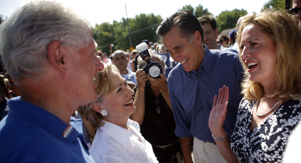 But Isn't Mitt Romney Basically Hillary Clinton in a Suit and Tie?