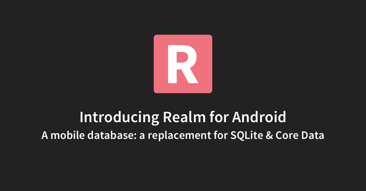 realm android git