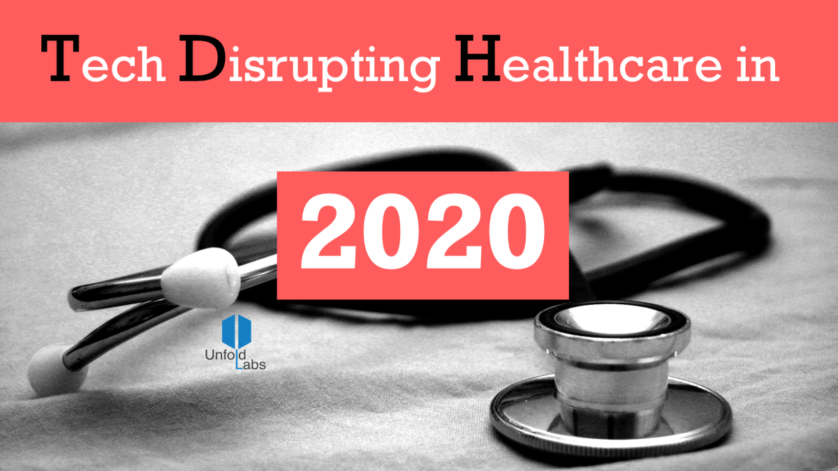 5 Tech Trends that will Disrupt Healthcare in 2020