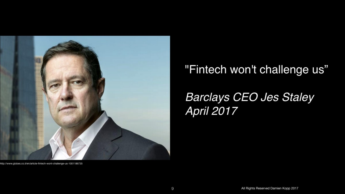 Barclays Quotes: FinTech: 90% Hype, 10% Revolution. And Why It's Okay
