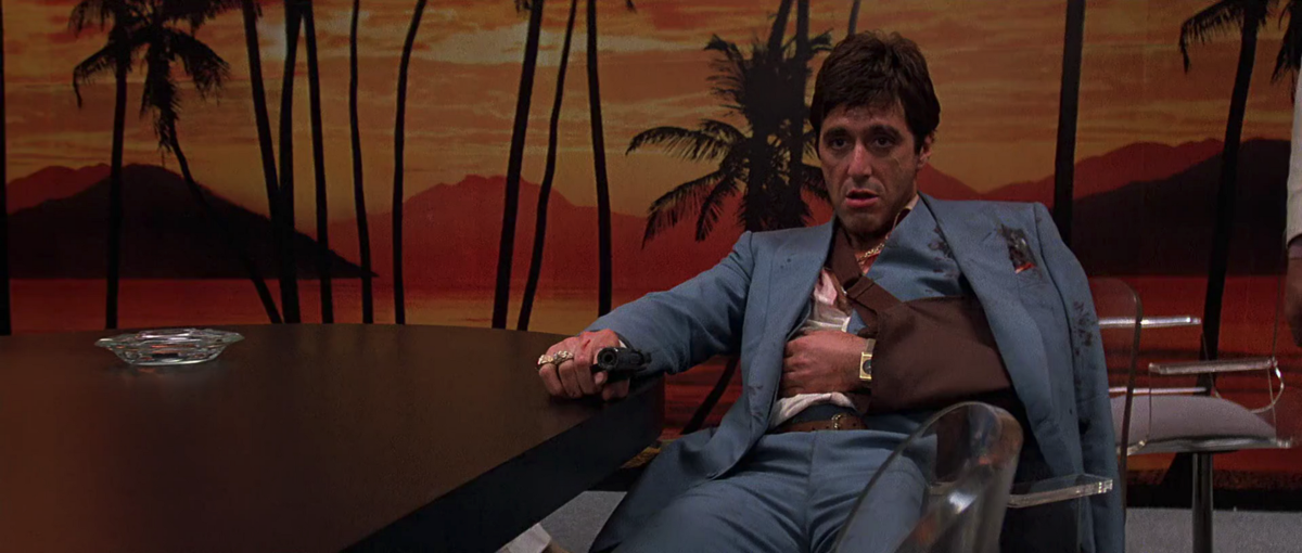 an analysis of the movie scarface by brian de palma Brian de palma, director: dressed to kill brian de palma is the son of a surgeon he studied physics but at the same time felt his dedication for the movies and made some short films.