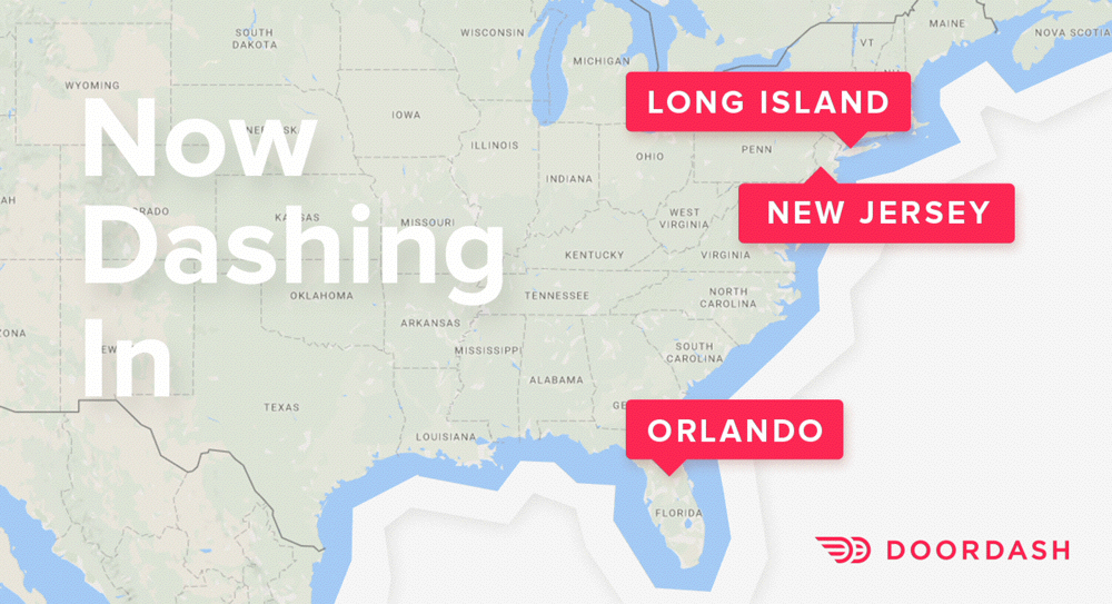 Dashing To Doorsteps In More Than 70 Cities Orlando New Jersey