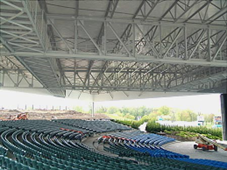 Michigan Lottery Amphitheatre At Freedom Hill Michigan
