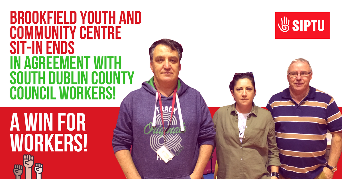 Brookfield Youth And Community Centre Sit In Ends In Agreement With
