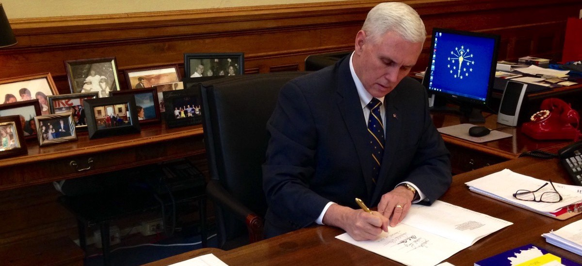 In Sign Trump S Days Are Numbered Pence Practices