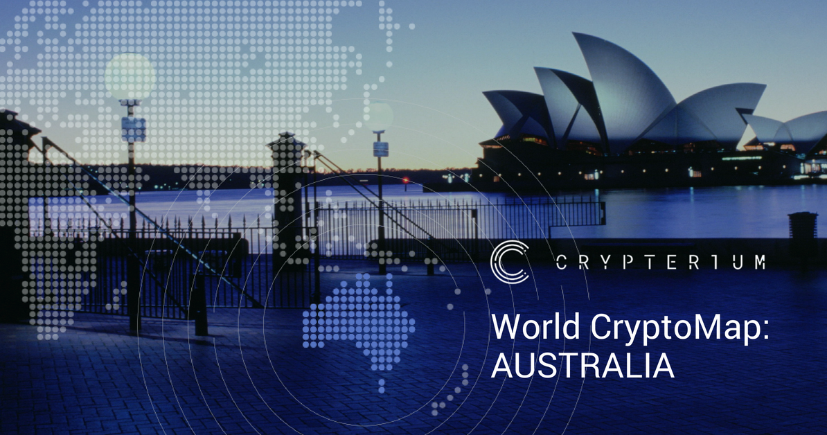 World CryptoMap: How Australia is becoming the first crypto continent
