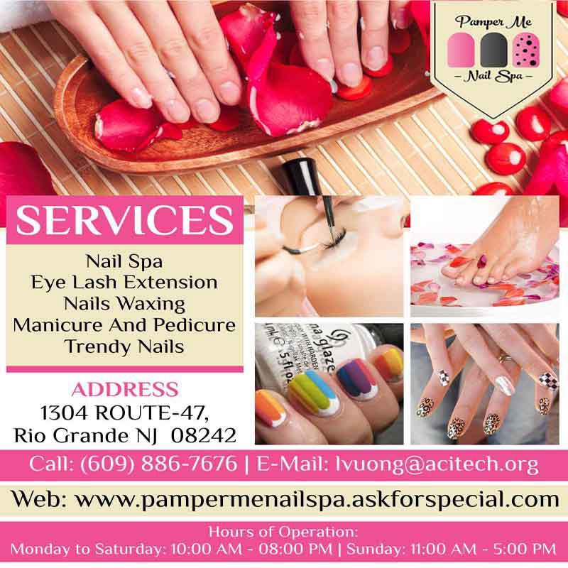 Nail Salon: Get Clean And Hygienic Nails – Pamper Me Nail Spa – Medium