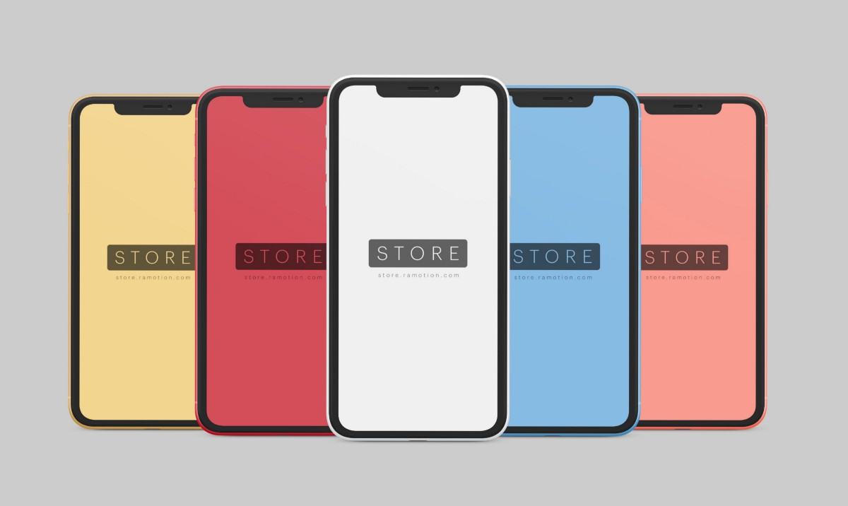 Mockups gratis de iPhone X
