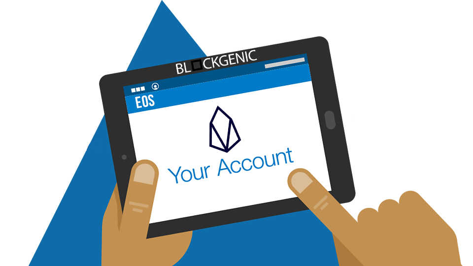 eos accounts how they work and how to get one blockgenic medium