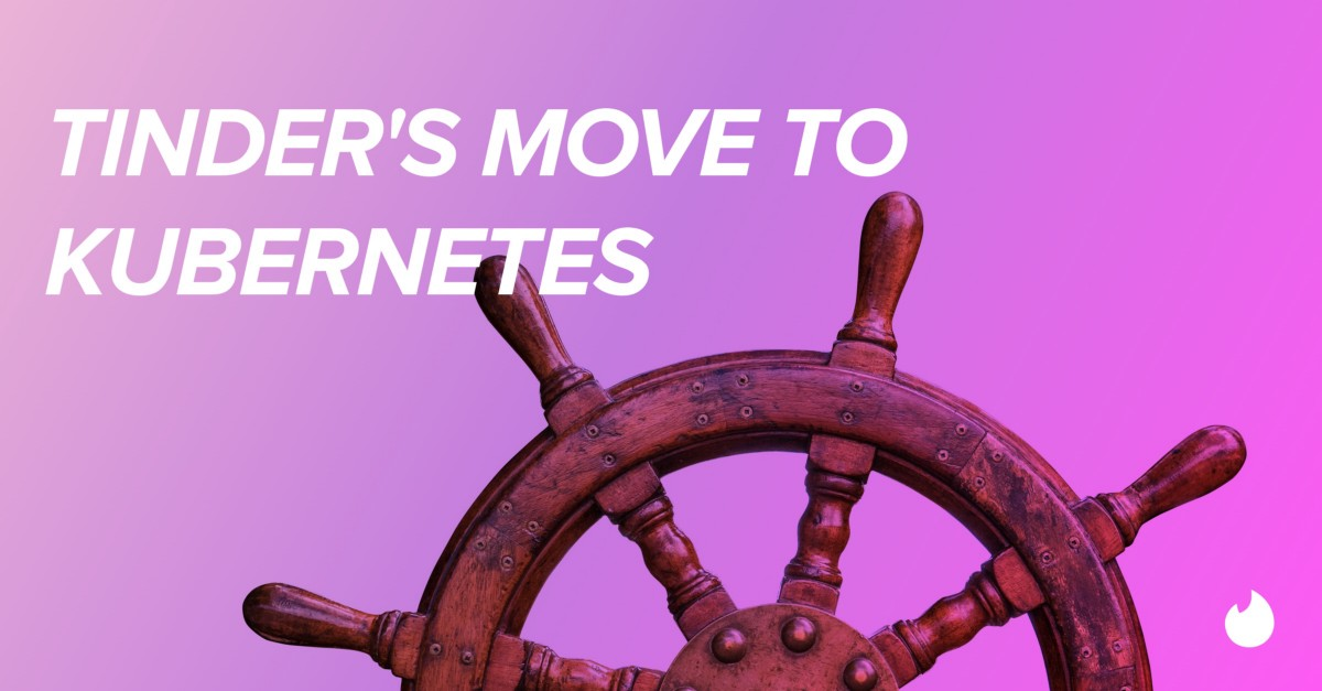 Tinder's move to Kubernetes