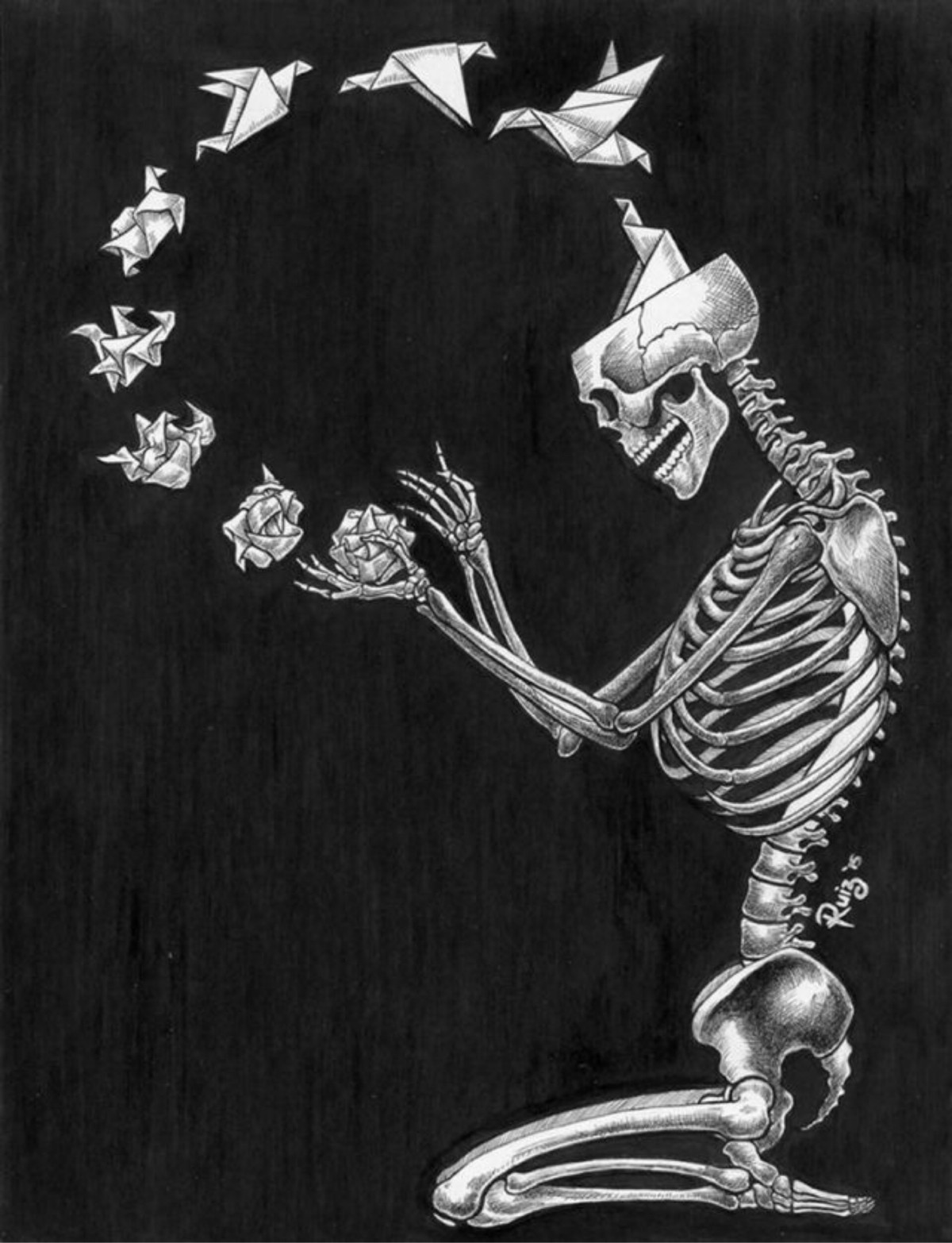 a slimy skeleton artist tumblr - 783×1021
