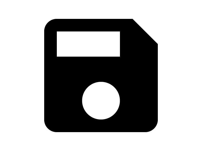 A better save icon