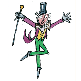 it s roald dahl day here s how he influenced me rhys grinstead rh medium com willy wonka clip art pics willy wonka clip art bat