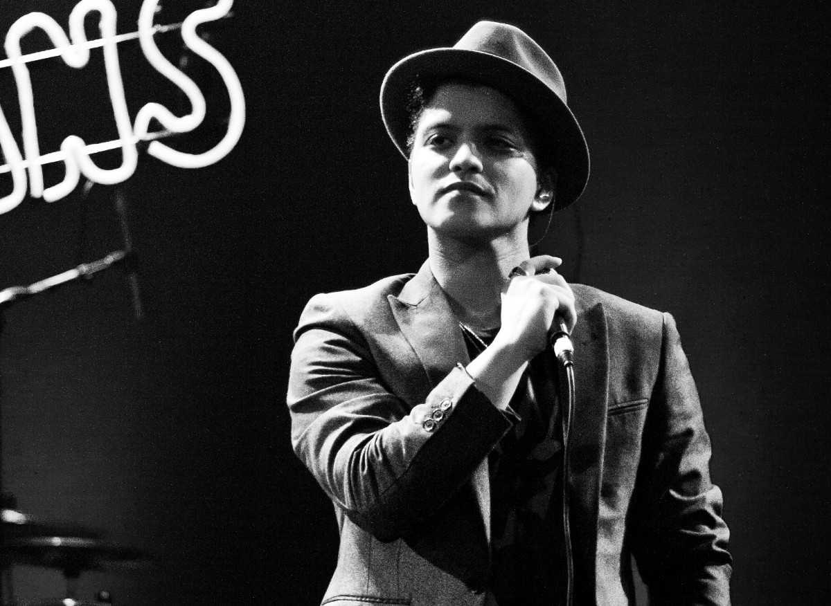 Bruno Mars likes sweet wine