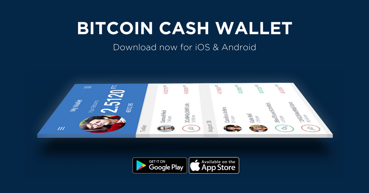 Bitcoin cash wallet for mobile grab it now the btc blog ccuart Gallery