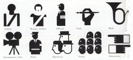 Japanse Olympics Pictograms