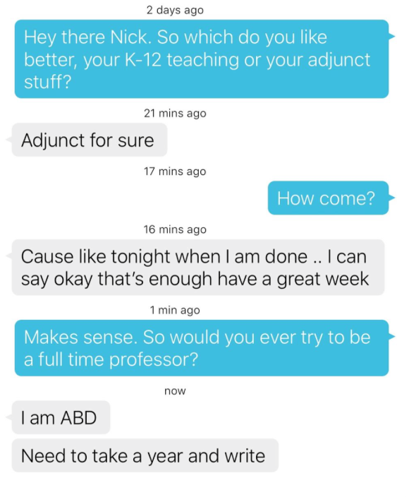 Online dating conversation examples