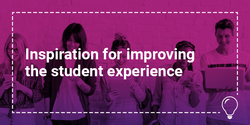 Where to find inspiration for improving the student experience in FE