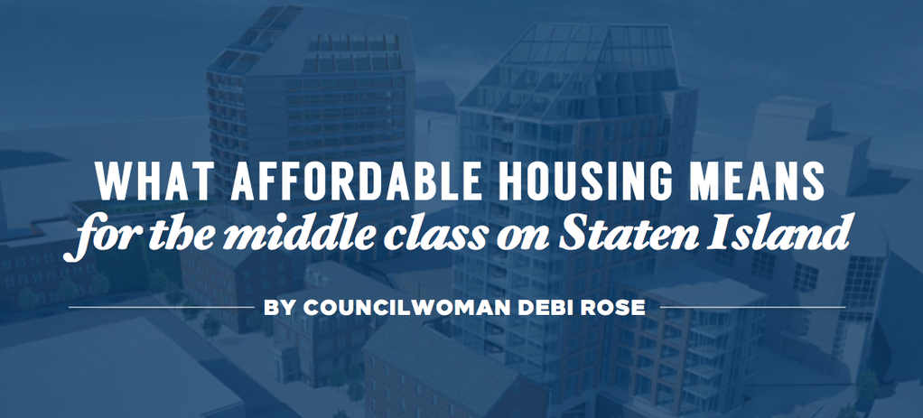 What affordable housing means for the middle class on Staten
