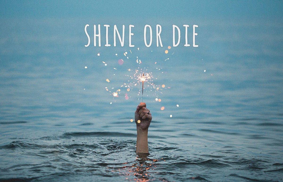 Shine or Die — A UX Designer's New Year's Resolutions
