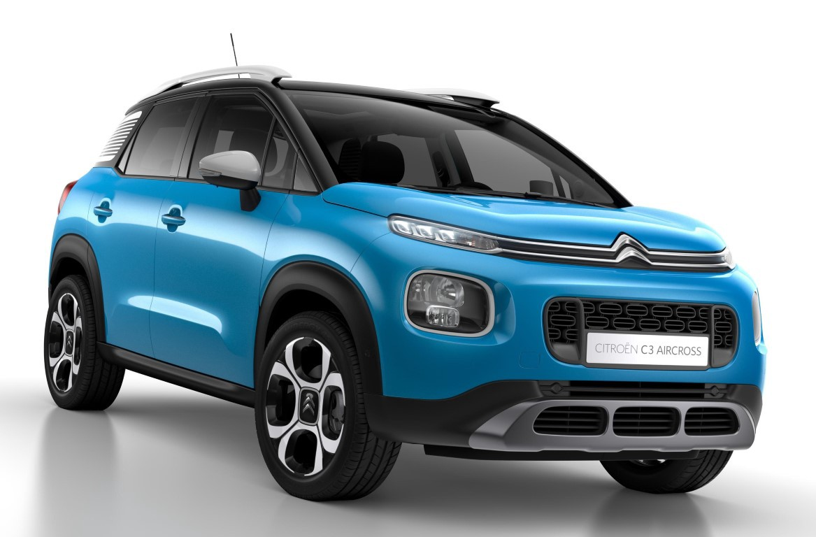 citroen c3 aircross price release date pictures. Black Bedroom Furniture Sets. Home Design Ideas