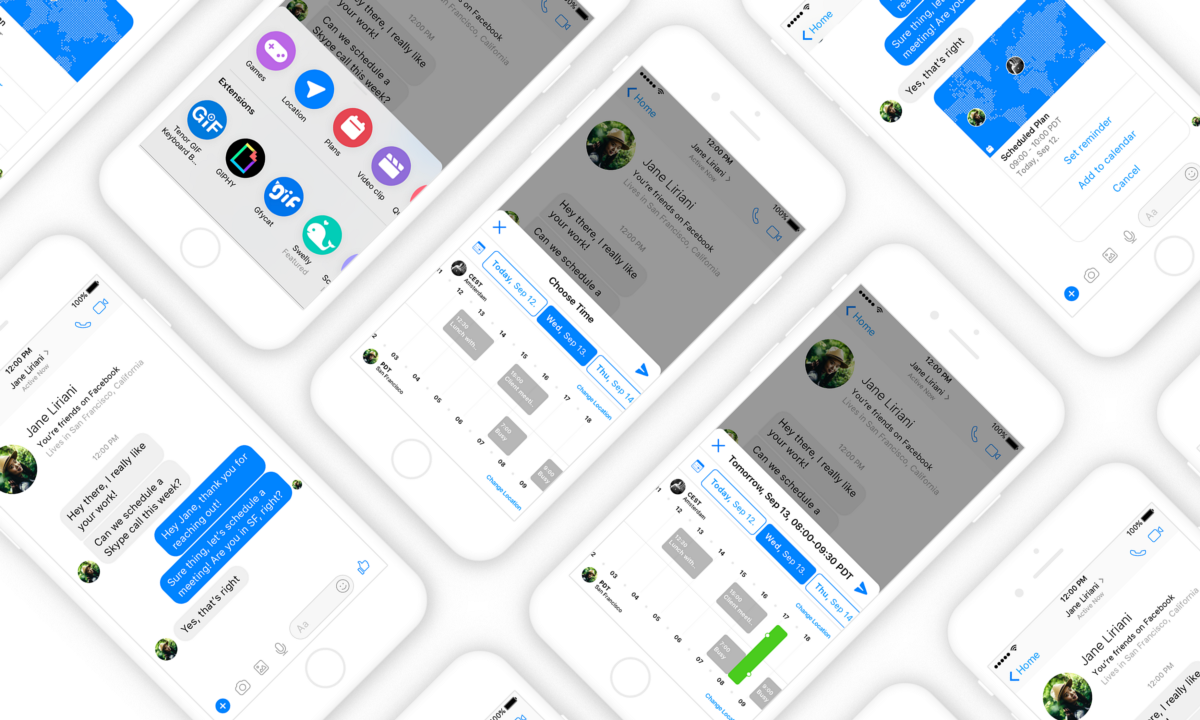 Time Zone Messenger Extension Ui Ux Case Study Of