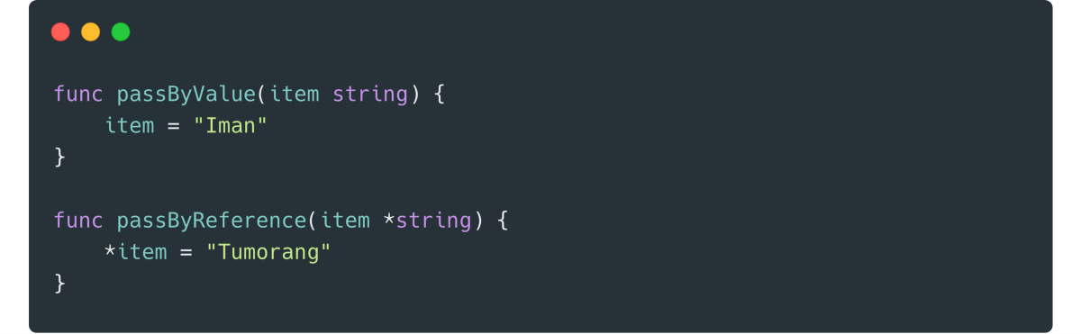 Today I Learned: Pass By Reference on Interface Parameter in Golang