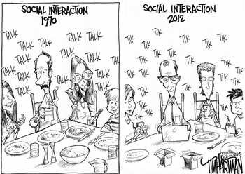 how does social media affect social interaction