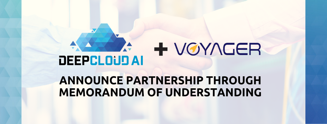 DeepCloud AI Announces Strategic Partnership with Voyager Innovations: Collaboration with Purpose