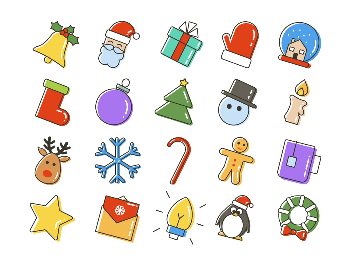 Freebie: Christmas Icon Set