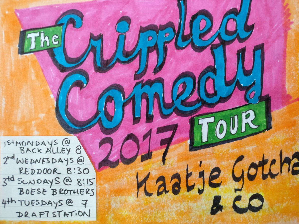 On Loneliness and Disability – Kaatje Gotcha Crippled Comedy