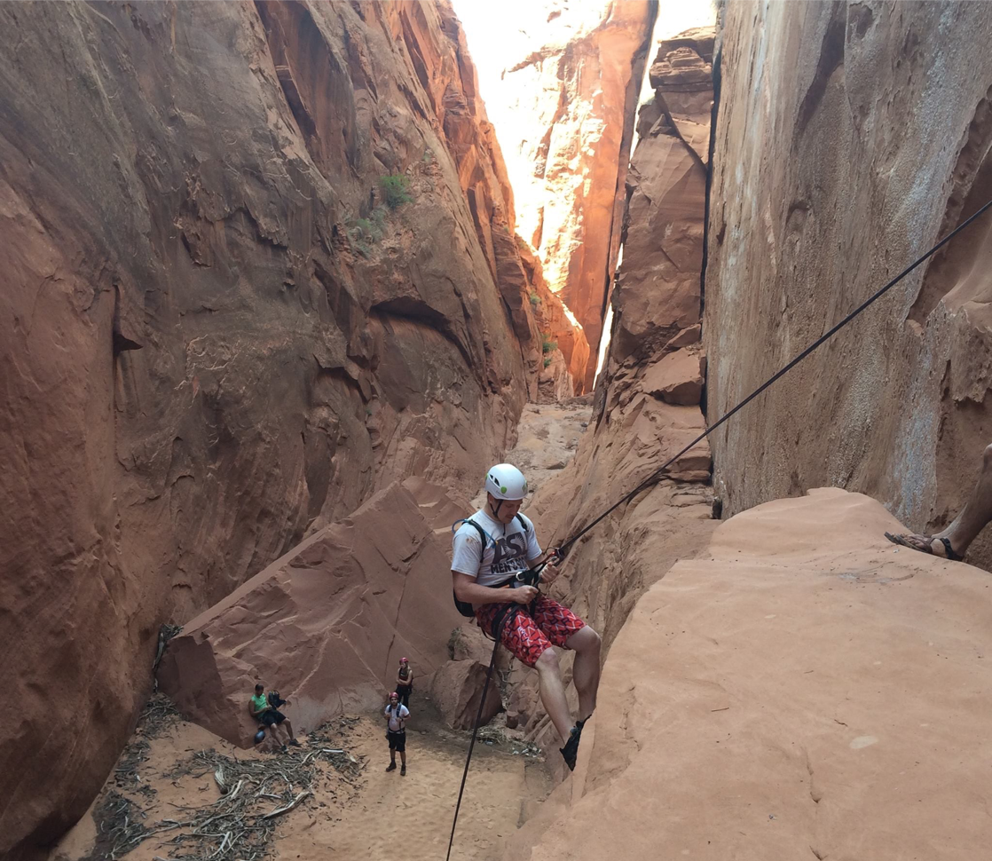 CTSO alumni Jake Pfeiffer's adventure in Lower Waterholes Canyon.