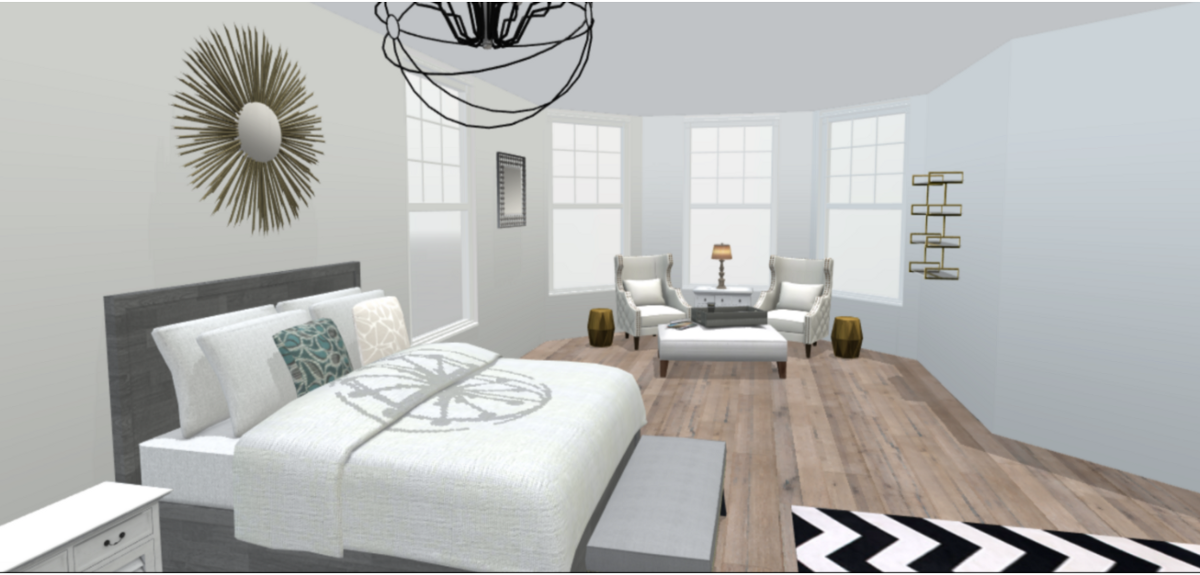 Room Design Application inside the design application for homeowners and professionals alike